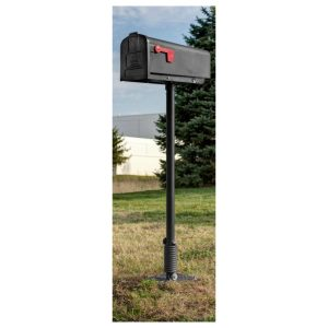 black flexmailbox system