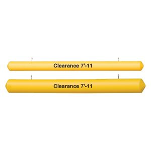 Clearance Bar With Eye HooksClearance Bar Economy, white background