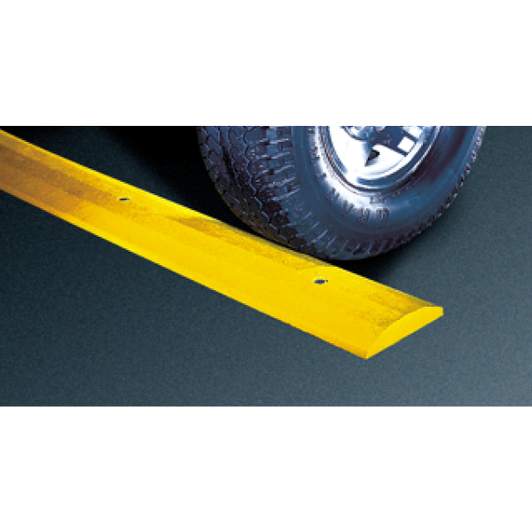 Yellow Recycled Plastic Speed Bump