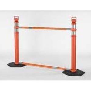 Orange EZ Grab Cone Bar System, white background
