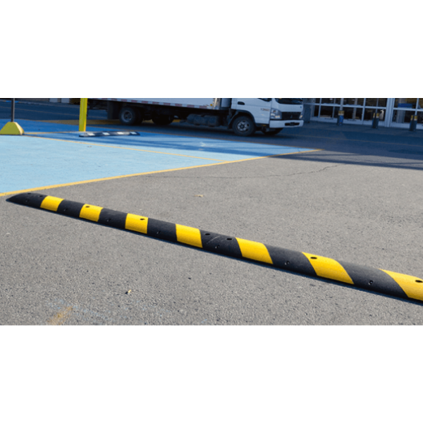 Easy Rider® Speed Bumps on road
